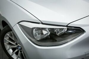 2013 BMW 118i F20 Silver 8 Speed Sports Automatic Hatchback