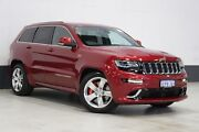 2014 Jeep Grand Cherokee WK MY15 SRT 8 (4x4) Red 8 Speed Automatic Wagon Bentley Canning Area Preview