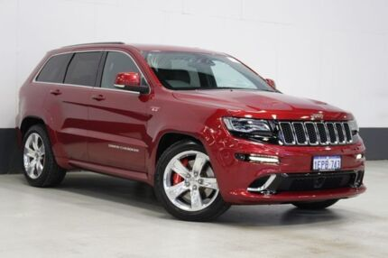 2014 Jeep Grand Cherokee WK MY15 SRT 8 (4x4) Red 8 Speed Automatic Wagon