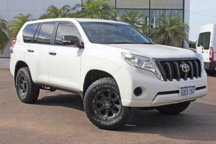 2015 Toyota Landcruiser Prado White Sports Automatic Wagon Wangara Wanneroo Area Preview