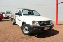 2005 Mitsubishi Triton MK MY05 GL 5 Speed Manual Cab Chassis The Gardens Darwin City Preview