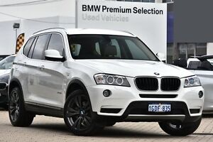 2013 BMW X3 F25 MY1112 xDrive20i Steptronic White 8 Speed Automatic Wagon Victoria Park Victoria Park Area Preview