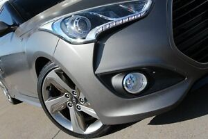 2014 Hyundai Veloster FS3 SR Turbo Satin Grey 6 Speed Automatic Coupe Dee Why Manly Area Preview