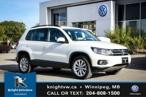 2017 Volkswagen Tiguan Wolfsburg Edition AWD w/ App Connect/Back