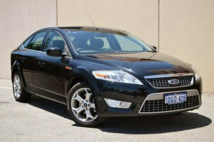 2009 Ford Mondeo MB Zetec Black 6 Speed Sports Automatic Hatchback