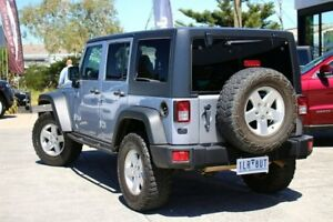 2013 Jeep Wrangler JK MY2013 Unlimited Sport Silver 5 Speed Automatic Softtop