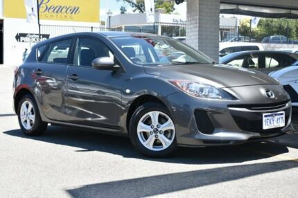 2013 Mazda 3 BL10F2 MY13 Neo Activematic Grey 5 Speed Sports Automatic Hatchback Claremont Nedlands Area Preview