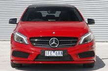 2015 Mercedes-Benz A200 CDI  Red Sports Automatic Dual Clutch Hatchback Ringwood East Maroondah Area Preview