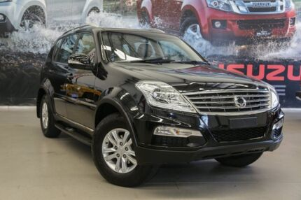 2016 Ssangyong Rexton Y285 II MY14 SX Space Black 5 Speed Sports Automatic Wagon