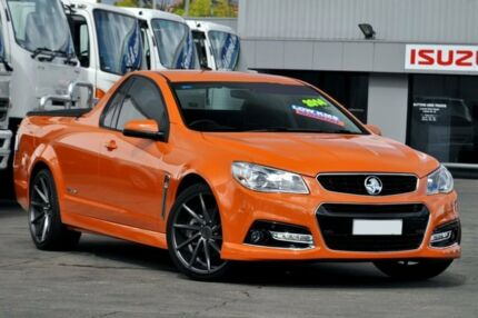 2014 Holden Ute VF SS Storm Orange 6 Speed Manual Utility Arncliffe Rockdale Area Preview