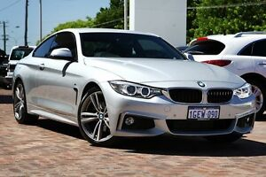 2013 BMW 428i F32 M Sport Silver 8 Speed Sports Automatic Coupe Osborne Park Stirling Area Preview