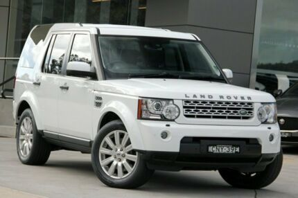 2013 Land Rover Discovery 4 SERIES 4 L319 M SDV6 Fuji White