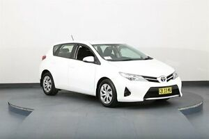 2014 Toyota Corolla ZRE182R Ascent White 7 Speed CVT Auto Sequential Hatchback Smithfield Parramatta Area Preview