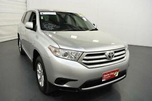 2013 Toyota Kluger GSU45R MY13 Upgrade KX-R (4x4) 5 Seat Silver Pearl 5 Speed Automatic Wagon Moorabbin Kingston Area Preview