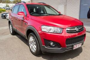 2015 Holden Captiva CG MY15 7 Active Red 6 Speed Sports Automatic Wagon Slacks Creek Logan Area Preview