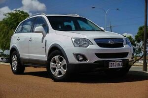 2011 Holden Captiva CG Series II 5 AWD White 6 Speed Sports Automatic Wagon Wangara Wanneroo Area Preview