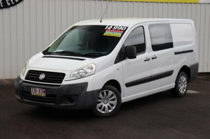 2012 Fiat Scudo Low Roof LWB White 6 Speed Manual Van Bungalow Cairns City Preview
