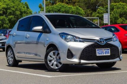 2016 Toyota Yaris Silver Automatic Hatchback St James Victoria Park Area Preview
