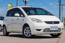 2008 Mitsubishi Colt RG MY08 ES White 5 Speed Manual Hatchback Bellevue Swan Area Preview