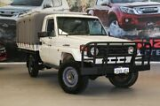 2000 Toyota Landcruiser HZJ79R (4x4) White 5 Speed Manual 4x4 Cab Chassis Rockingham Rockingham Area Preview