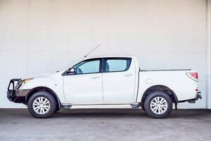 2012 Mazda BT-50 UP0YF1 XTR White 6 Speed Sports Automatic Utility Pearsall Wanneroo Area Preview