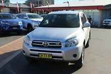 2007 Toyota RAV4 GSA33R CV6 Silver 5 Speed Automatic Wagon South Maitland Maitland Area Preview
