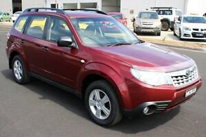 2012 Subaru Forester S3 MY12 X AWD Luxury Edition Red 4 Speed Sports Automatic Wagon Maryville Newcastle Area Preview