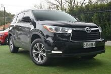 2014 Toyota Kluger GSU50R GXL 2WD Black 6 Speed Sports Automatic Wagon Paradise Campbelltown Area Preview