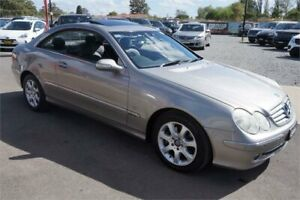 2004 Mercedes-Benz CLK-Class C209 CLK240 Elegance Silver 5 Speed Automatic Coupe Revesby Bankstown Area Preview
