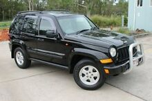 2007 Jeep Cherokee KJ MY2006 Limited Black 4 Speed Automatic Wagon Capalaba West Brisbane South East Preview