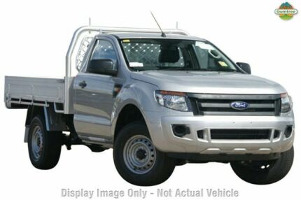 2015 Ford Ranger PX XL Highlight Silver 6 Speed Manual Cab Chassis Tuggerah Wyong Area Preview