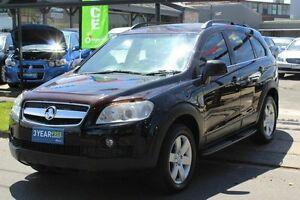 2008 Holden Captiva CG MY08 CX AWD Black 5 Speed Sports Automatic Wagon West Footscray Maribyrnong Area Preview