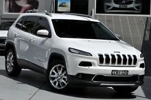 2014 Jeep Cherokee KL MY15 Limited (4x4) White 9 Speed Automatic Wagon Mosman Mosman Area Preview