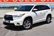 2015 Toyota Kluger GSU50R GXL 2WD White 6 Speed Sports Automatic Wagon Gateshead Lake Macquarie Area Preview