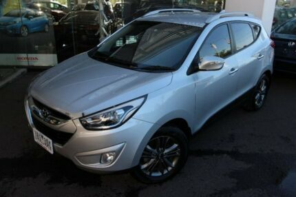 2014 Hyundai ix35 LM3 MY14 Elite AWD Silver 6 Speed Sports Automatic Wagon Hoppers Crossing Wyndham Area Preview