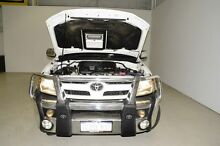 2007 Toyota Hilux KUN26R MY07 SR5 White 4 Speed Automatic Utility Edgewater Joondalup Area Preview