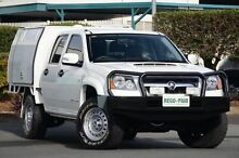 2011 Holden Colorado RC MY11 LX Crew Cab White 5 Speed Manual Cab Chassis Acacia Ridge Brisbane South West Preview