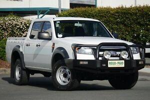 2011 Ford Ranger PK XL Crew Cab Cool White 5 Speed Automatic Utility Acacia Ridge Brisbane South West Preview