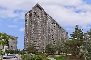 2 Bedroom Condo In Central Mississauga! Private Balcony!