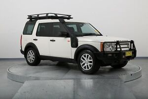 2007 Land Rover Discovery 3 Series 3 08MY SE White 6 Speed Sports Automatic Wagon Old Guildford Fairfield Area Preview