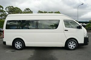 2014 Toyota Hiace KDH223R MY14 Commuter High Roof Super LWB White 5 Speed Manual Bus Acacia Ridge Brisbane South West Preview