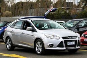 2014 Ford Focus LW MKII MY14 Trend PwrShift Silver 6 Speed Sports Automatic Dual Clutch Sedan Ringwood East Maroondah Area Preview