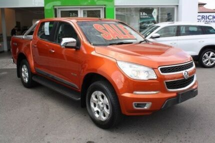 2013 Holden Colorado RG MY13 LTZ Crew Cab Red 6 Speed Sports Automatic Utility