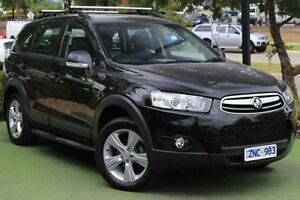 2012 Holden Captiva CG Series II 7 AWD CX Black 6 Speed Sports Automatic Wagon Berwick Casey Area Preview
