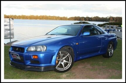 2000 Nissan Skyline BNR34 V Spec Bayside Blue Manual Coupe Lansvale Liverpool Area Preview