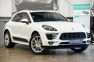 2014 Porsche Macan 95B MY15 S PDK AWD Diesel White 7 Speed Sports Automatic Dual Clutch Wagon Albion Brisbane North East Preview