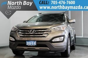 2014 Hyundai Santa Fe Navigation + Leather Interior + Sunroof