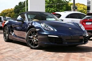 2013 Porsche Boxster 981 PDK Blue 7 Speed Sports Automatic Dual Clutch Convertible Osborne Park Stirling Area Preview
