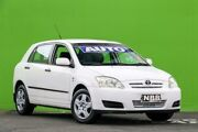 2006 Toyota Corolla ZZE122R 5Y Ascent Glacier White 4 Speed Automatic Hatchback Ringwood East Maroondah Area Preview