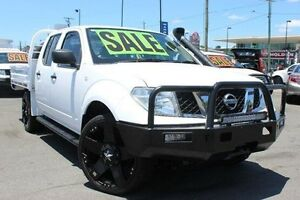 2011 Nissan Navara D40 MY11 RX White 6 Speed Manual Cab Chassis Yeerongpilly Brisbane South West Preview